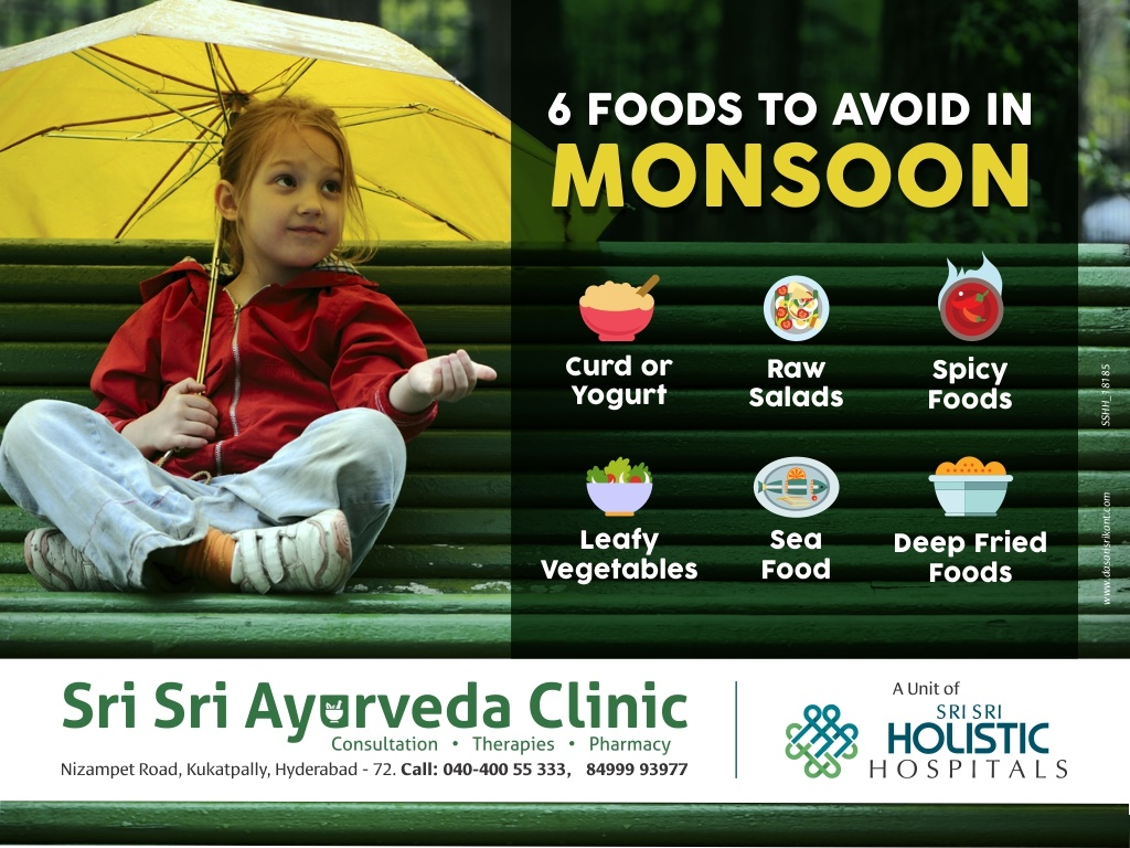 Monsoon Food Tips For You