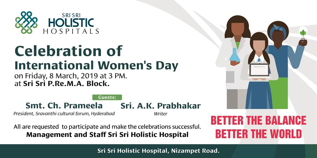 Celebration of International Women's Day 2019