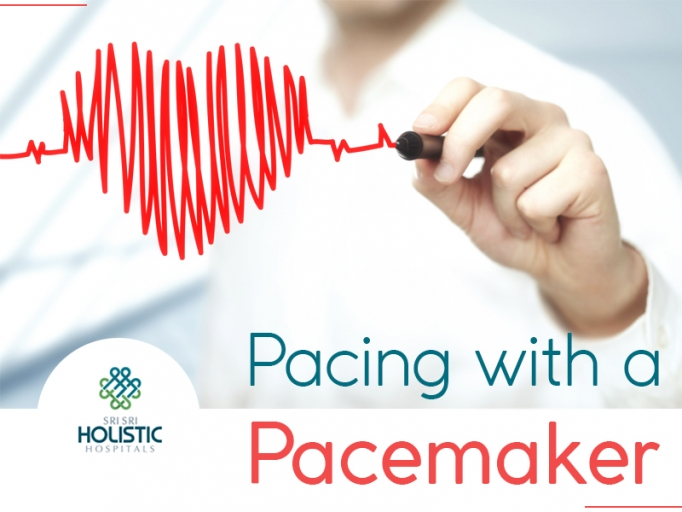 Pacing with an implantable pacemaker