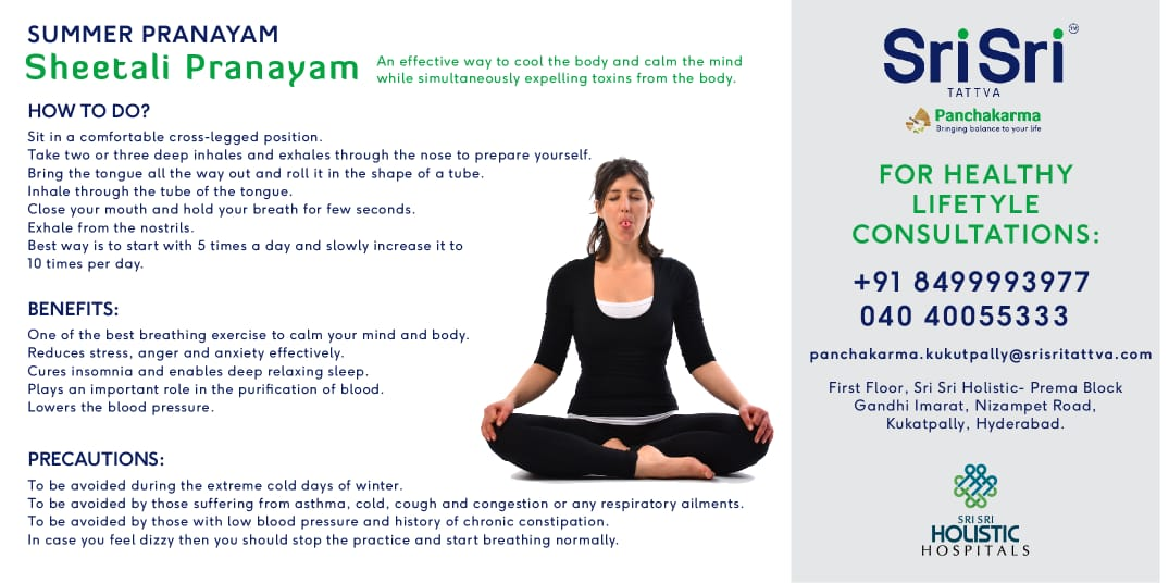 Sheetali Pranayam – Yoga for Summer: Cooling Pranayam to Beat the Heat