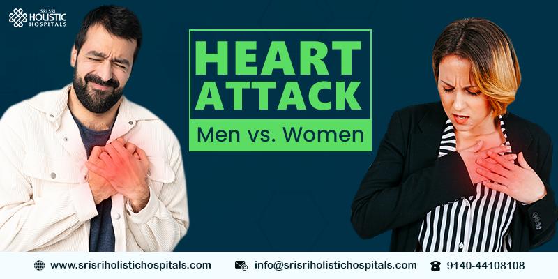 Heart Attack – Men vs. Women