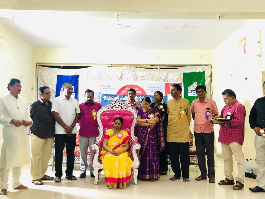 Honor to Dr.AluriVijayalakshmi